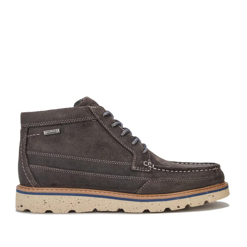 Boty Rockport Mens Storm Front Moccasin Boots Grey
