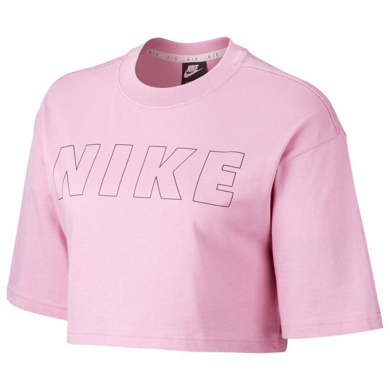 Tričko Nike Air Women's Cropped T-Shirt Pink