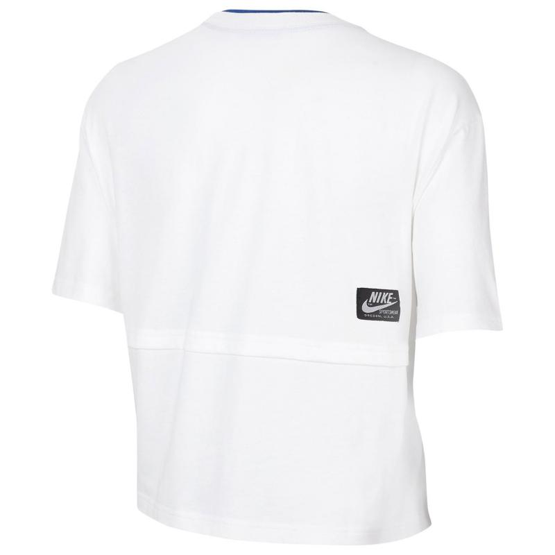 Tričko Nike Sportswear Icon Clash Women's Short-Sleeve Top WHITE