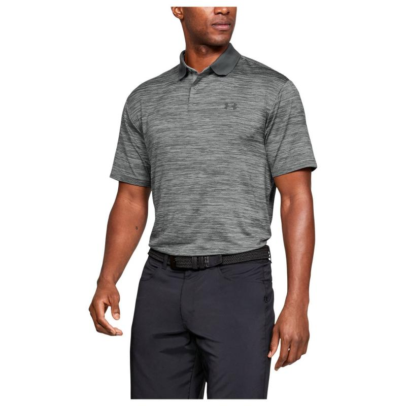 Under Armour Performance Polo Shirt Mens Steel
