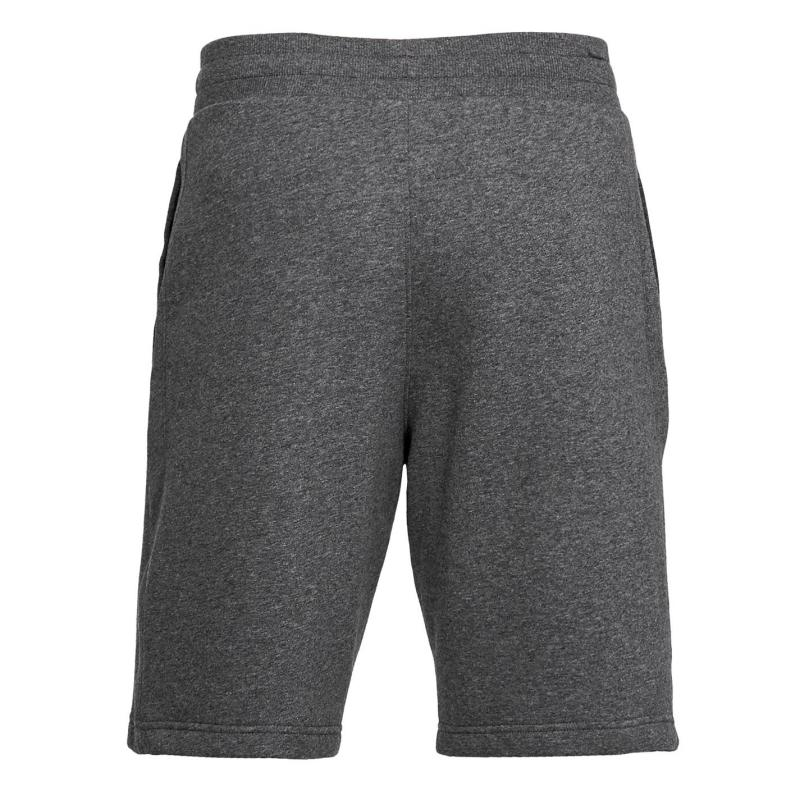Under Armour Rival Fleece Shorts Mens Charcoal Light Heather