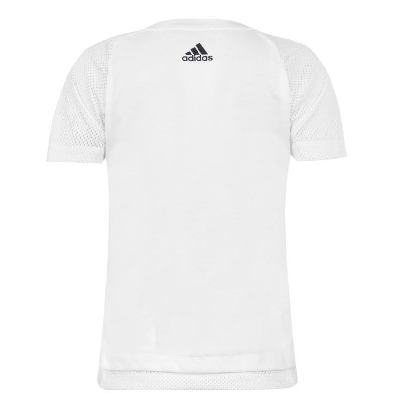 Adidas Athletics Club T Shirt Ladies White