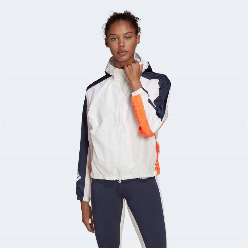 Adidas WND Jacket Ladies Wht/Legend Ink