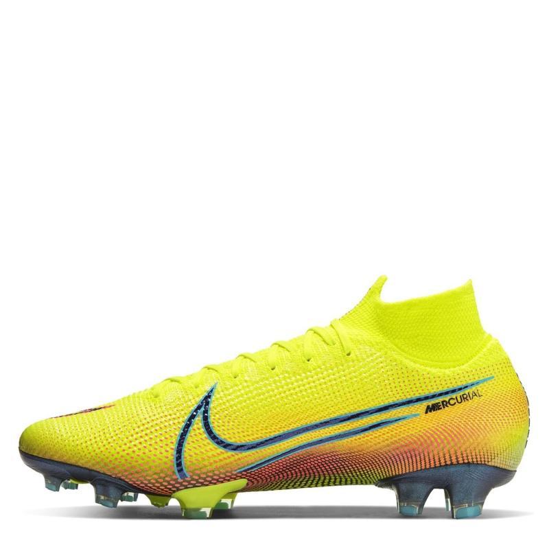 Nike Mercurial Superfly Elite DF Men's FG Football Boots Lemon/Black