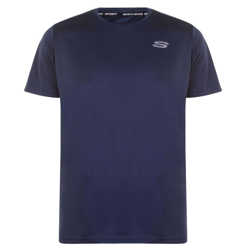 Skechers Oslon Short Sleeve T Shirt Grey