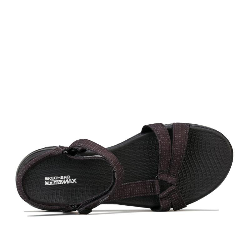 Boty Skechers Womens On The Go 600 Brilliancy Sandals Black