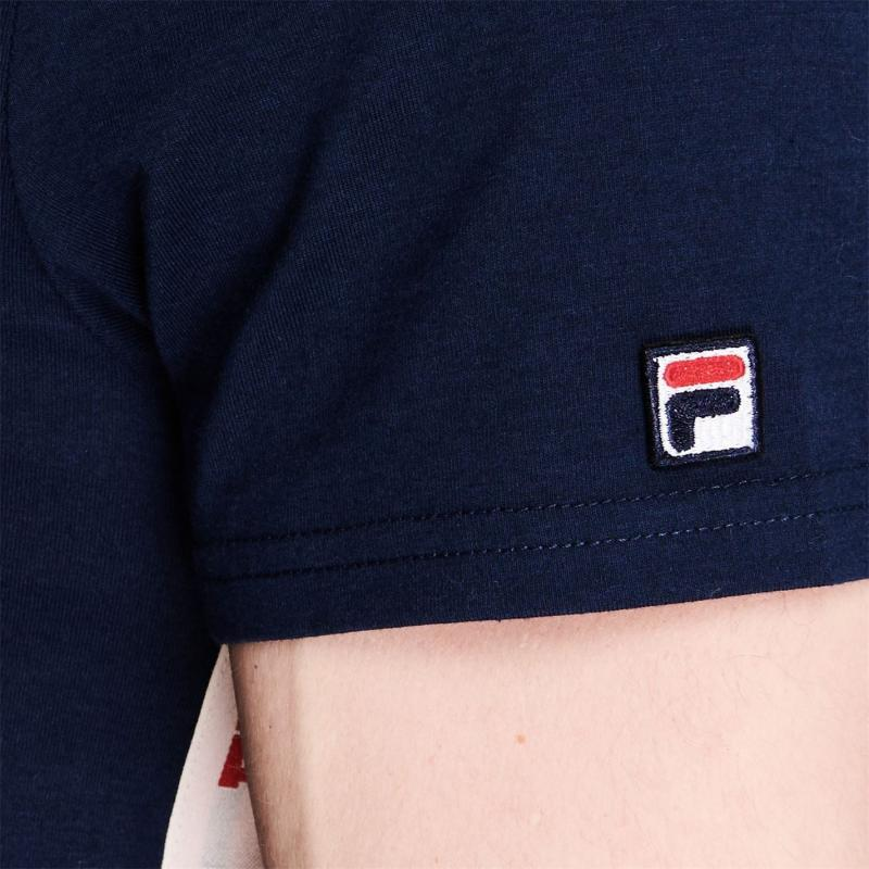 Tričko Fila Hank T Shirt Mens Navy
