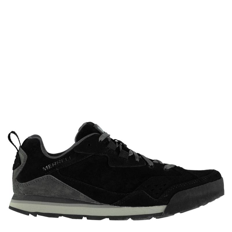 Boty Merrell Tura Suede Trainers Mens black