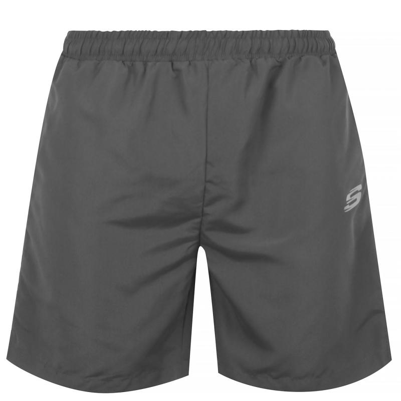 Skechers Cal Shorts Mens Grey