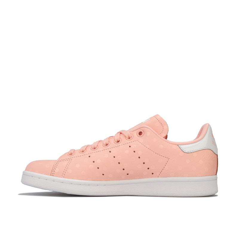 Adidas Originals Womens Stan Smith Trainers Coral