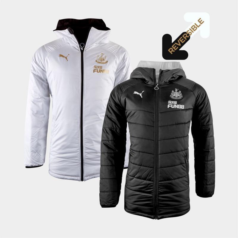 Puma Newcastle United Reversible Jacket Mens Black