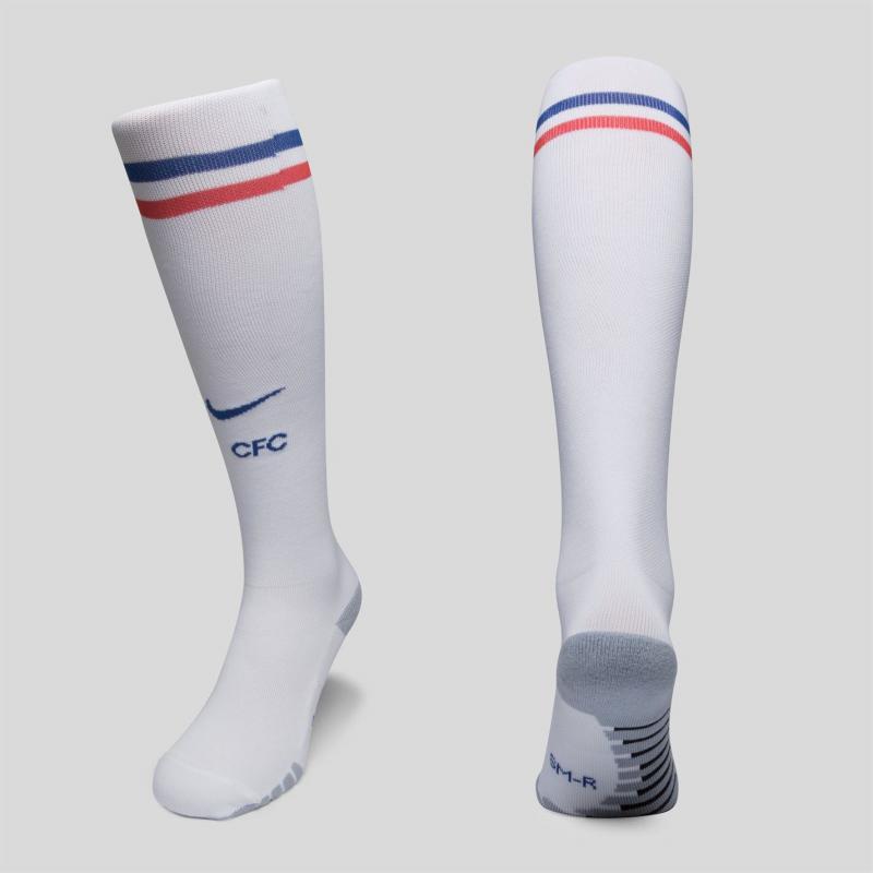 Nike Chelsea Football Socks 2018 2019 White
