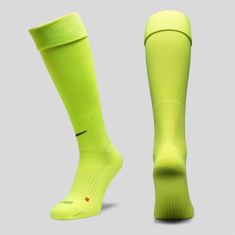 Ponožky Nike Classic Crew Football Socks Volt/Black