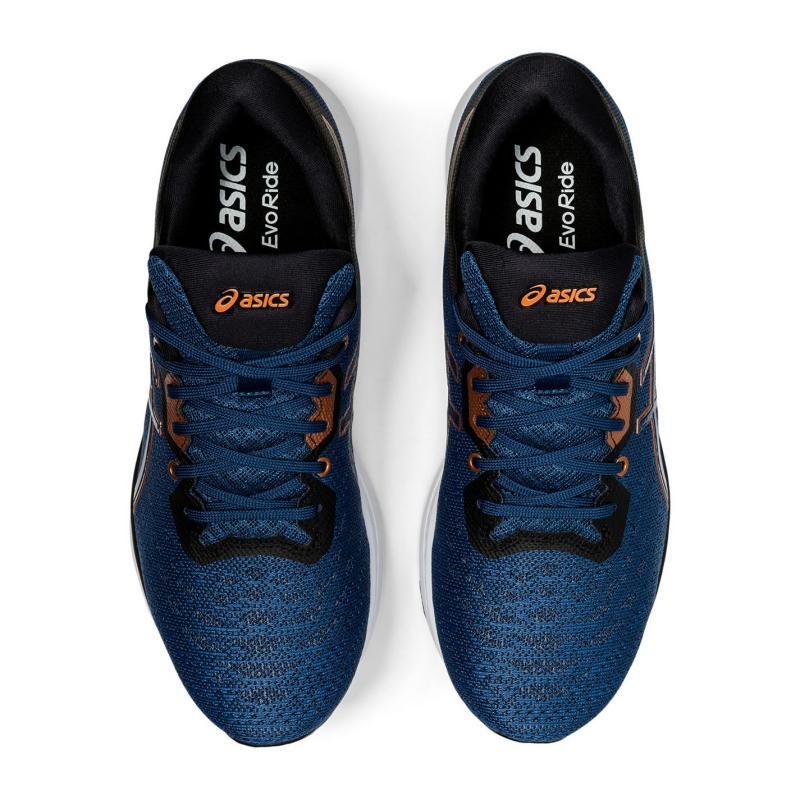 Asics Evoride Mens Running Shoes Blue/Bronze