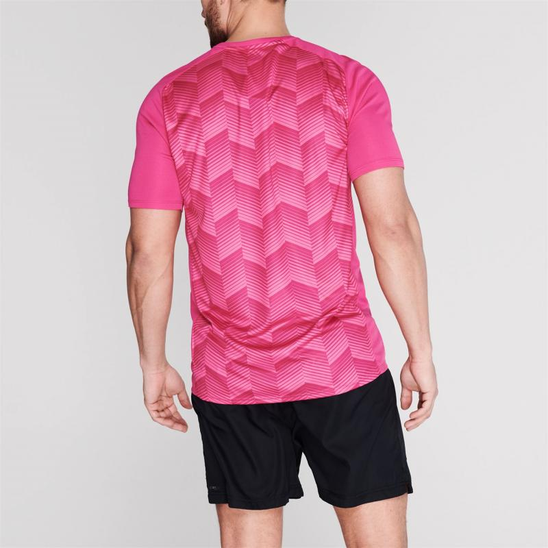 Tričko Canterbury Graphic Performance T Shirt Mens Pink
