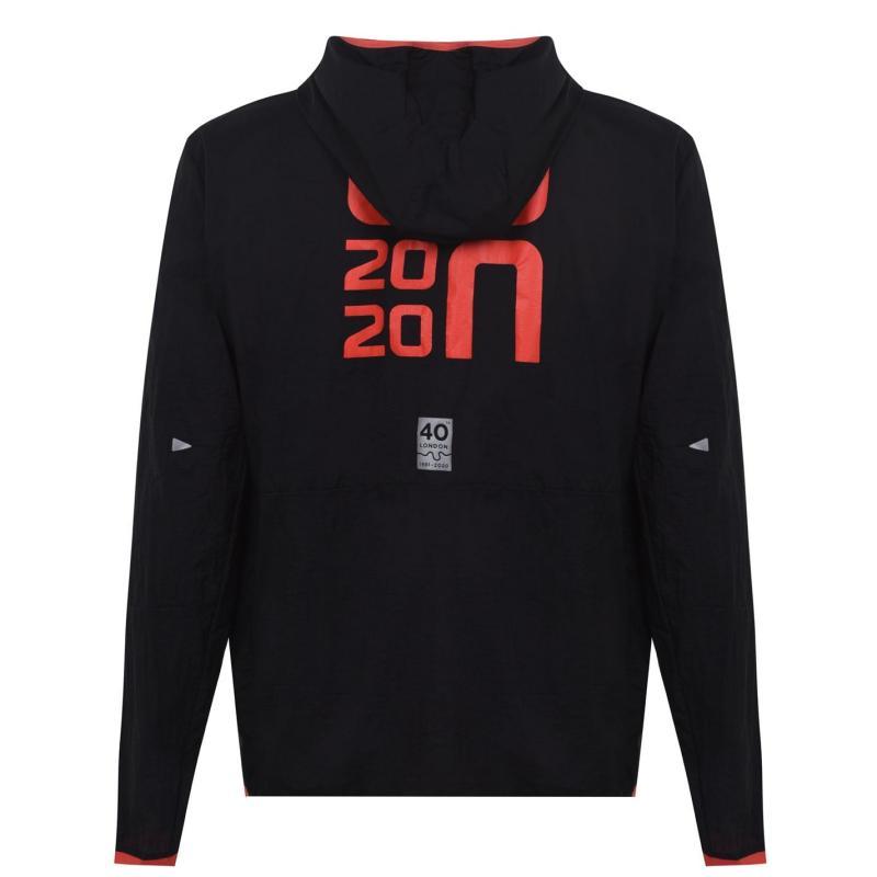 New Balance Balance London Edition Jacket Mens Black/Red