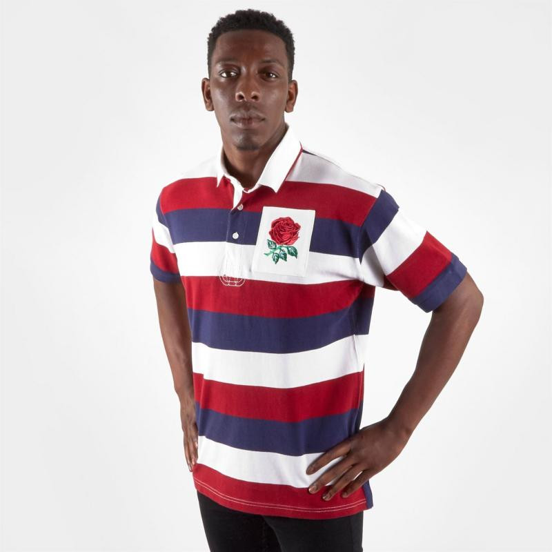VX-3 Short Sleeve Polo White/Red/Blue