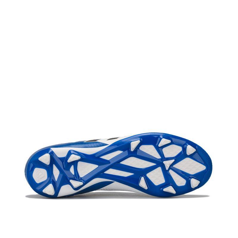 Adidas Junior Boys Nemeziz Messi 18.3 FG Football Boots White blue
