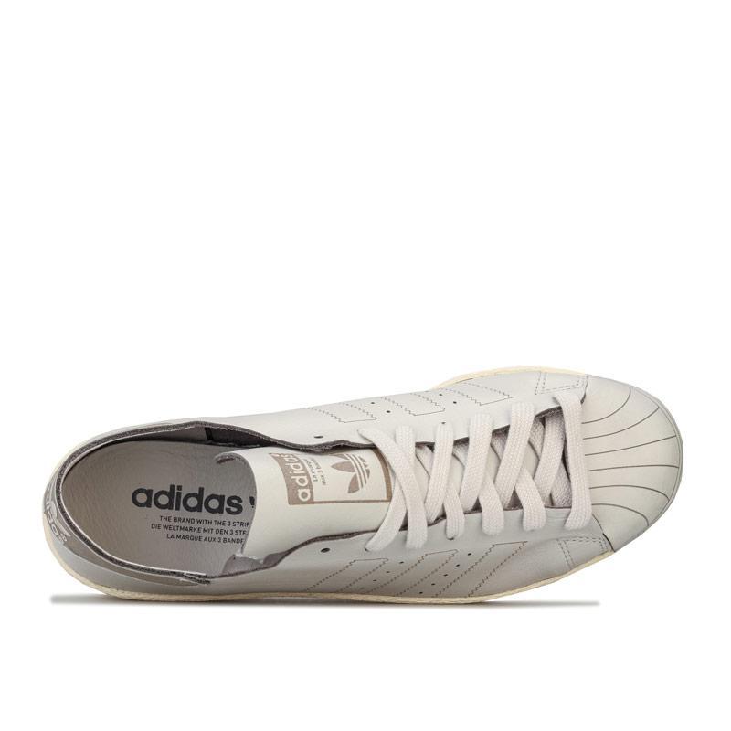 Adidas Originals Womens Superstar 80s Decon Trainers Light Grey