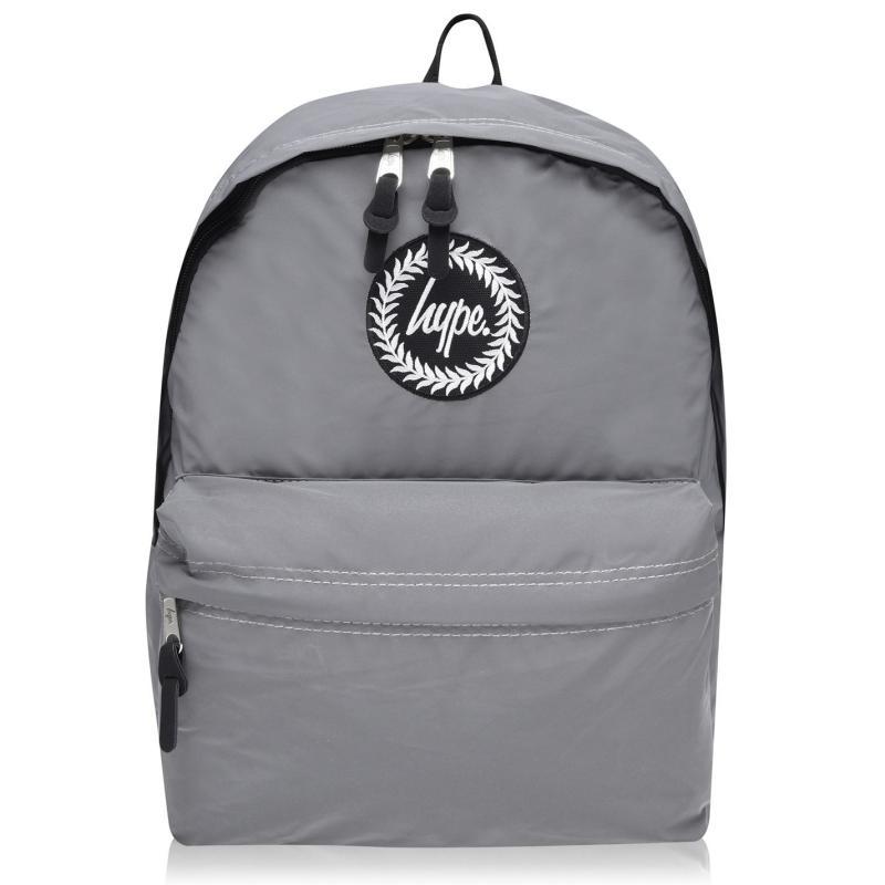 Hype Hype Backpack Jn00 Grey Reflective