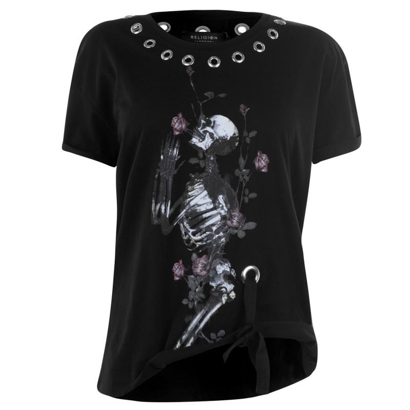 Religion Young T Shirt Black