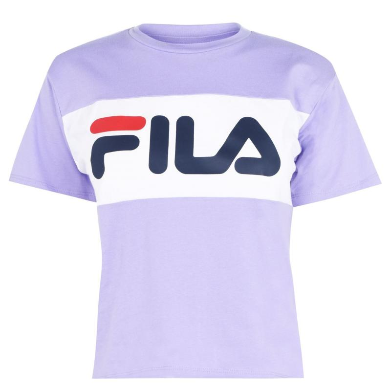 Tričko Fila Allison T Shirt Purple
