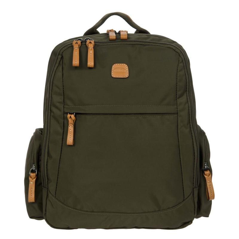 Brics XT Business Backpack Mens Olive