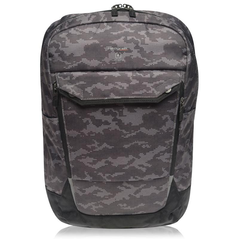 Hedgren Link Slim Backpack Grey Camo