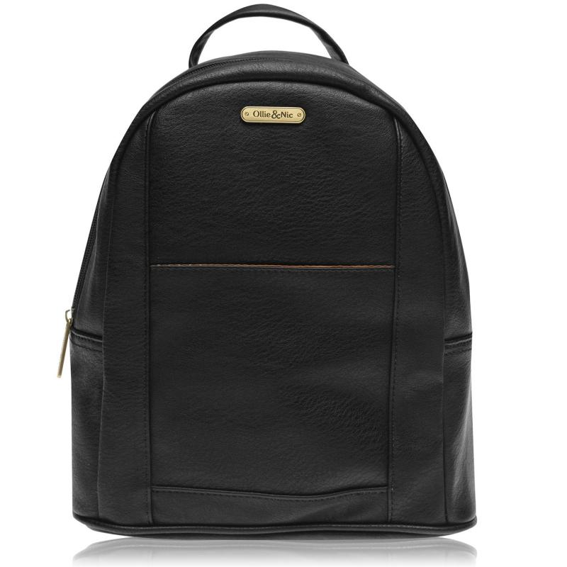 Ollie and Nic Ash Backpack BLACK001