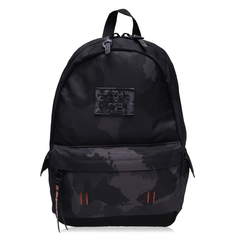Superdry Montana Backpack Blk Camo A15
