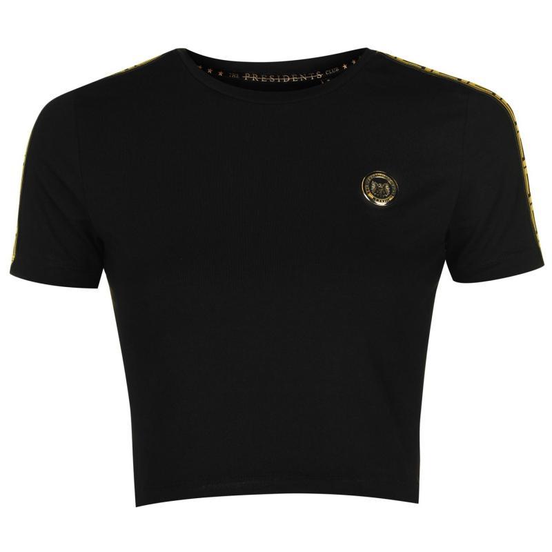 Presidents Club Cobra T Shirt Black