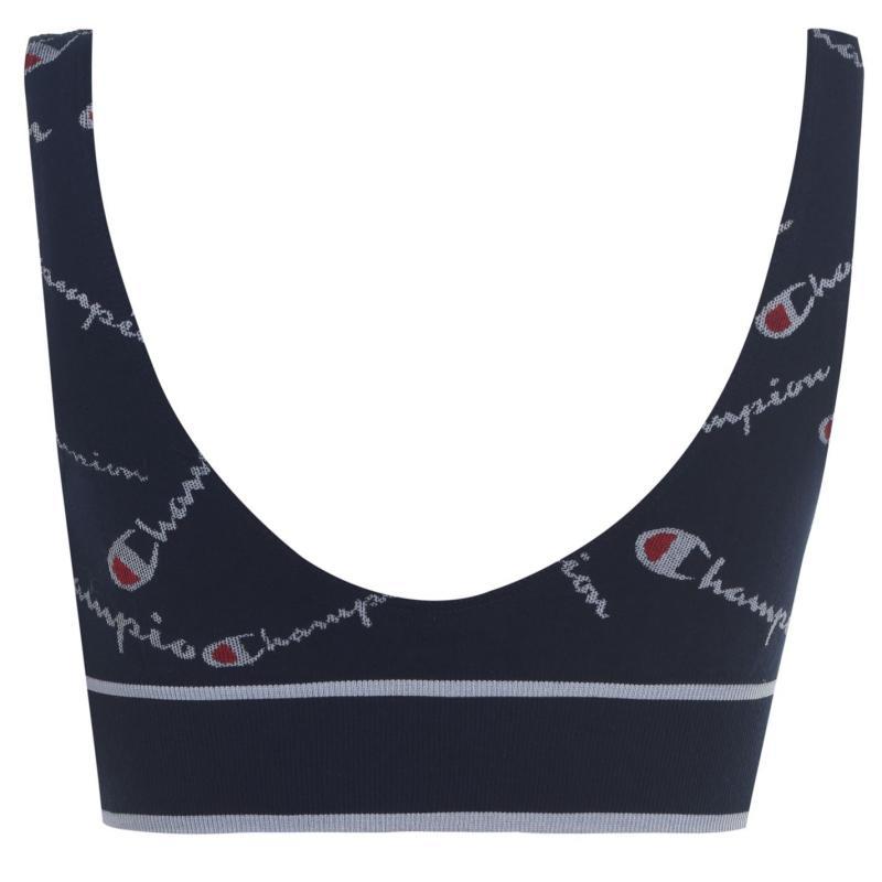 Spodní prádlo Champion Knit Bralette Navy 9GC