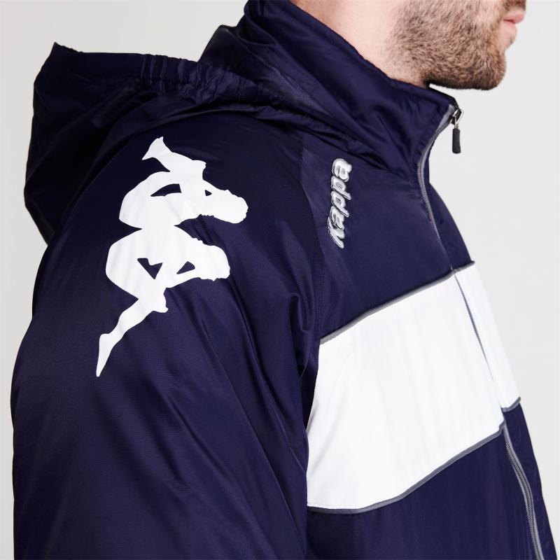 Kappa Pango Jacket Mens Blue Marine / W