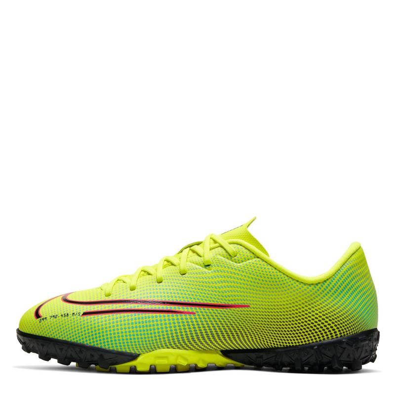 Nike Mercurial Vapor Academy Junior Astro Turf Trainers Lemon/Black