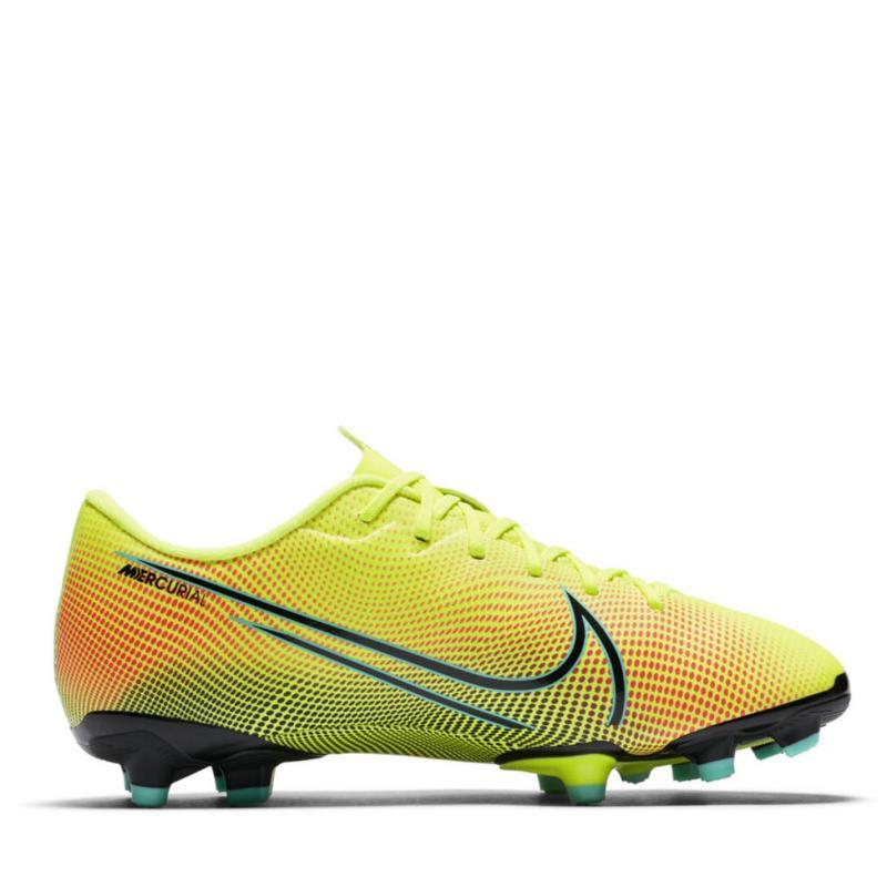 Nike Mercurial Vapor Academy Junior FG Football Boots Lemon/Black