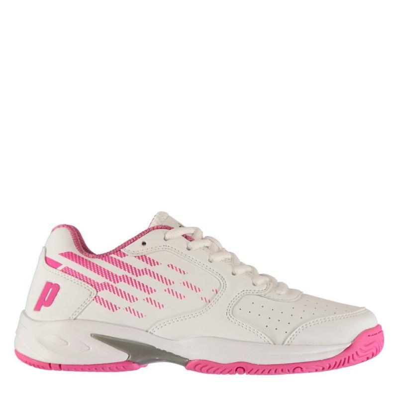 Prince Reflex Tennis Shoes Ladies White/Pink