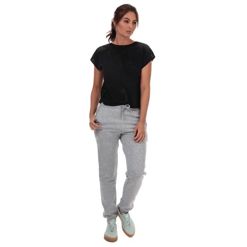 Adidas Womens Warp Knit T-Shirt Black