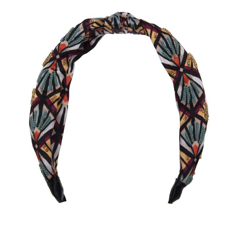 Biba Patterned Headband Moroccan Deco