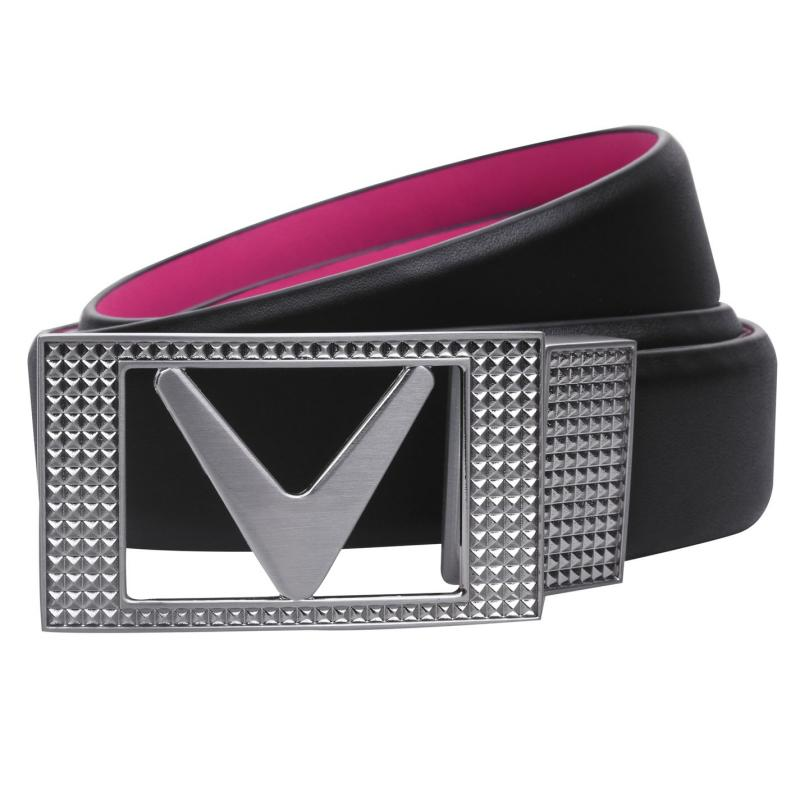 Callaway Reversible Belt Pink Yarrow