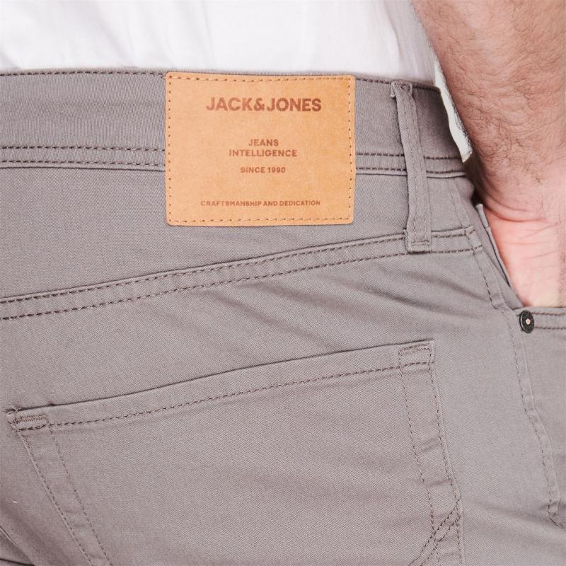 Jack and Jones Rick Shorts Mens Steel Grey