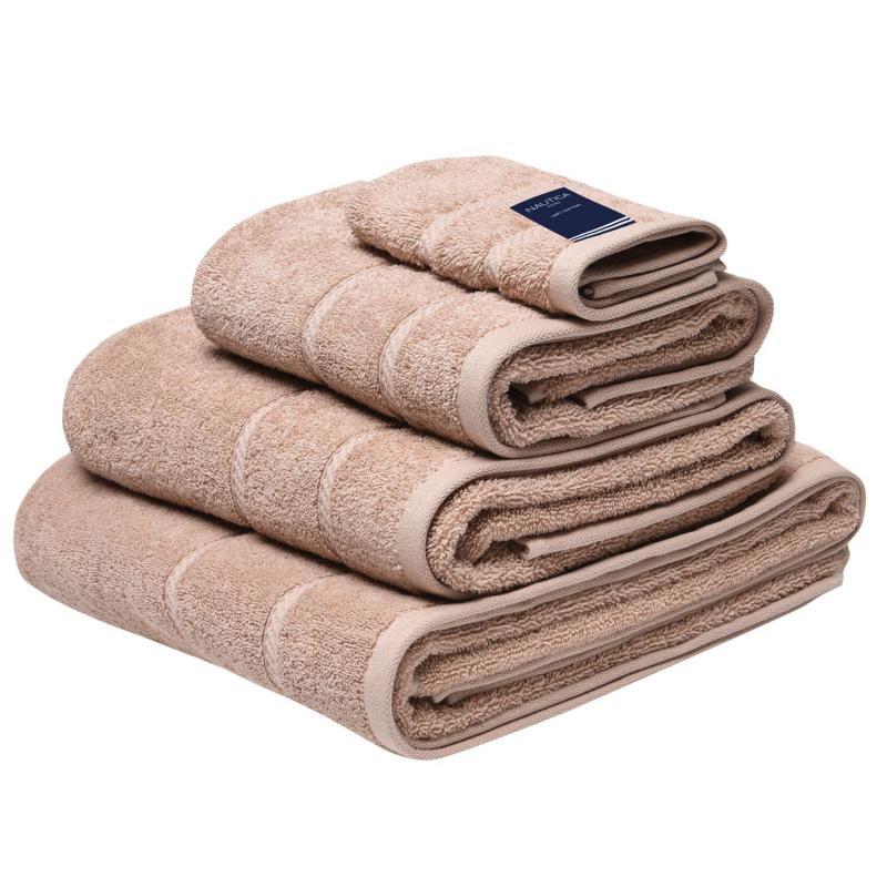 Nautica Plain Dye Towel Mocha