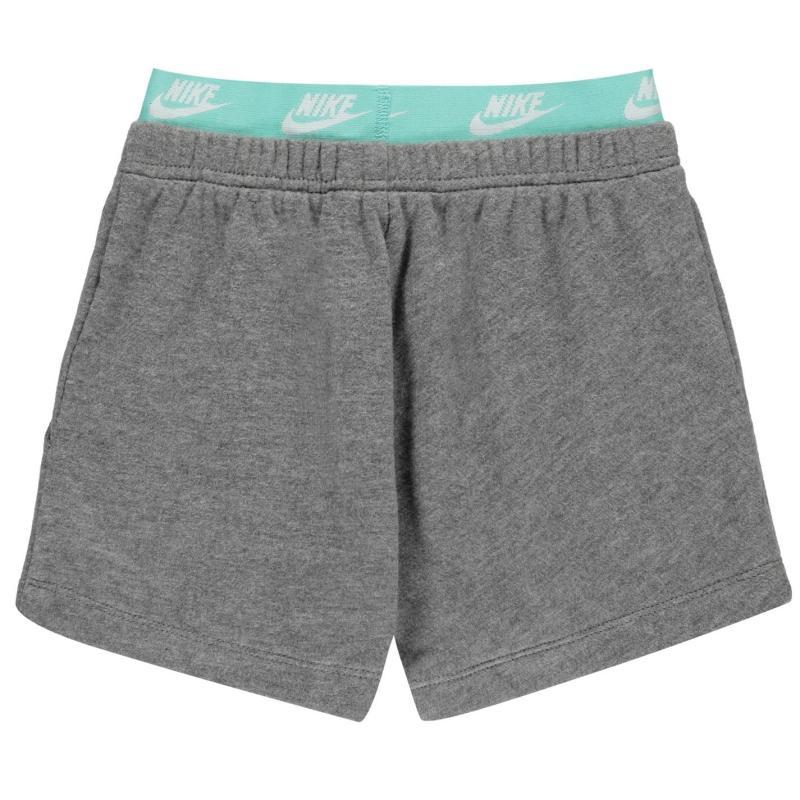 Nike NSW Shorts Infant Girls Carbon Heather