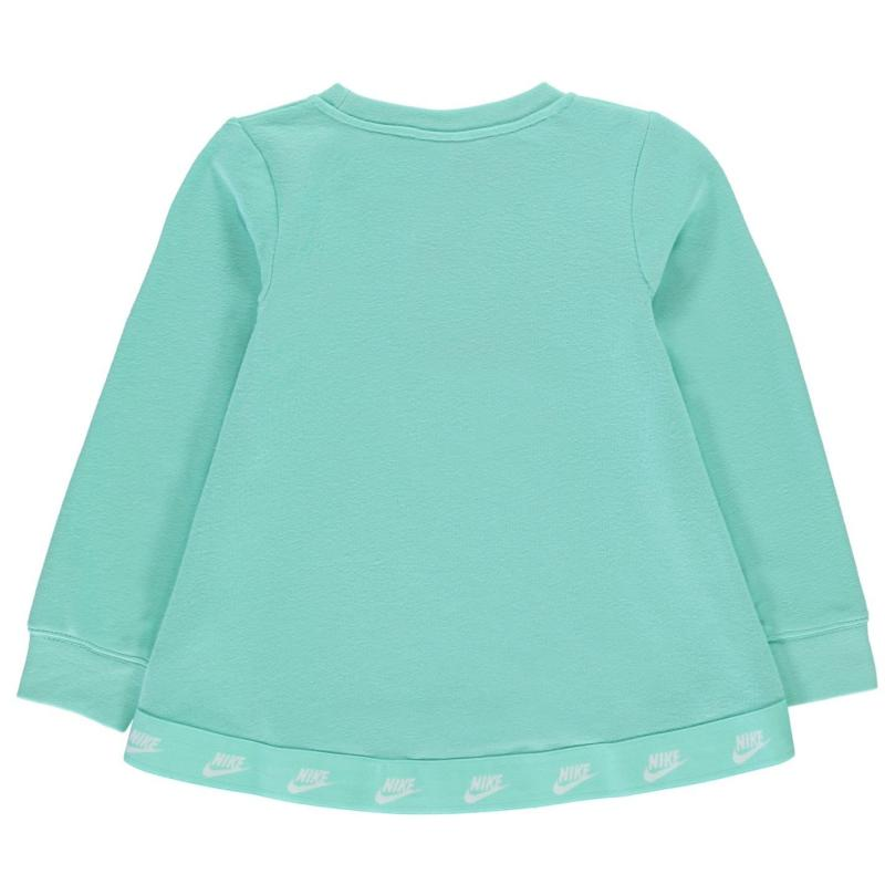 Nike NSW Sweatshirt Infant Girls Emerlad Rise