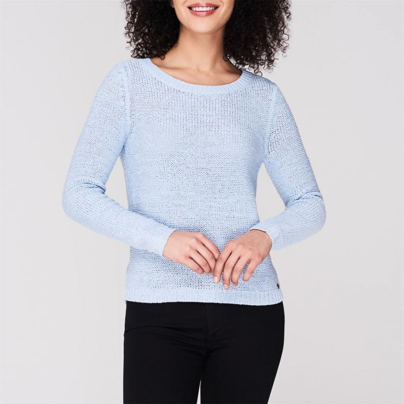 Svetr Only Knitted Jumper Cashmere Blue