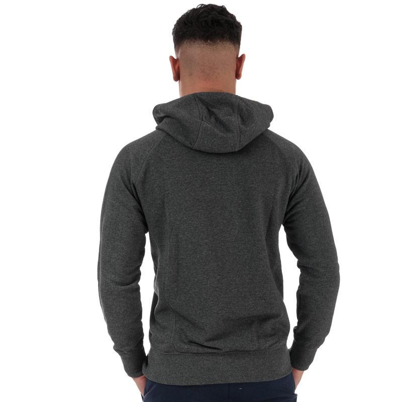Mikina Asics Mens Graphic Training Hoody Grey