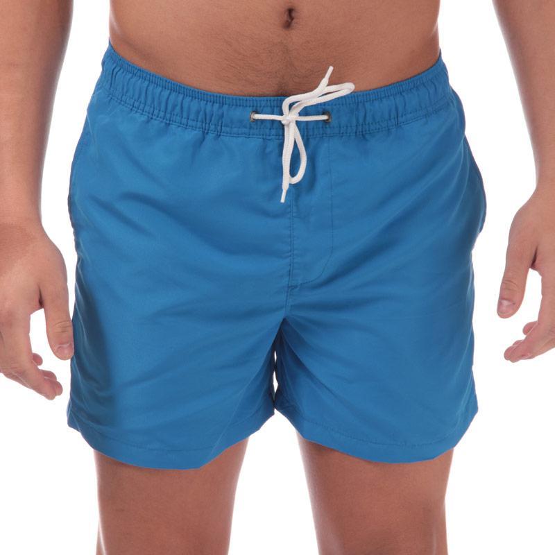 Jack Jones Mens Mailbu Solid Swim Shorts Blue