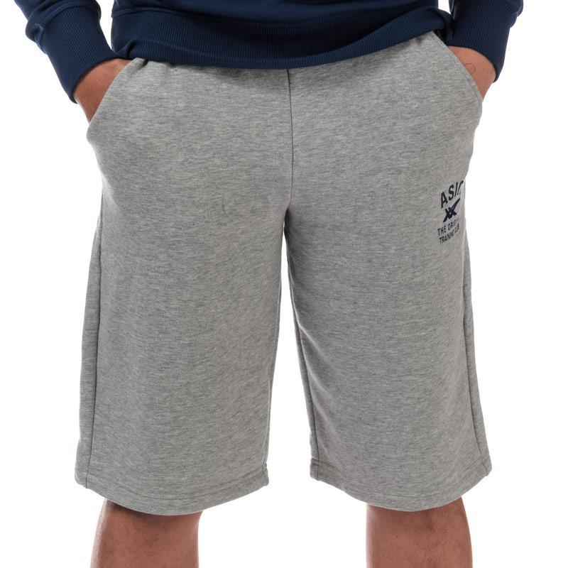 Tepláky Asics Mens Tech Training Shorts Grey