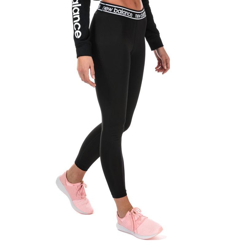 New Balance Womens Accelerate Leggings Black