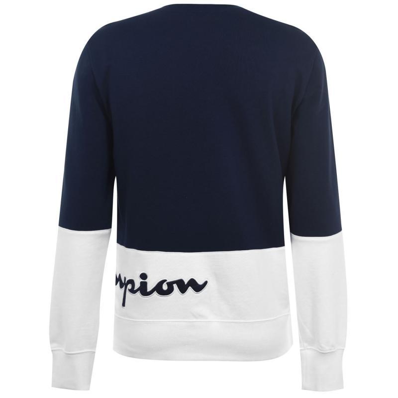 Mikina Champion Cut and Sew Sweatshirt NVB/WHT