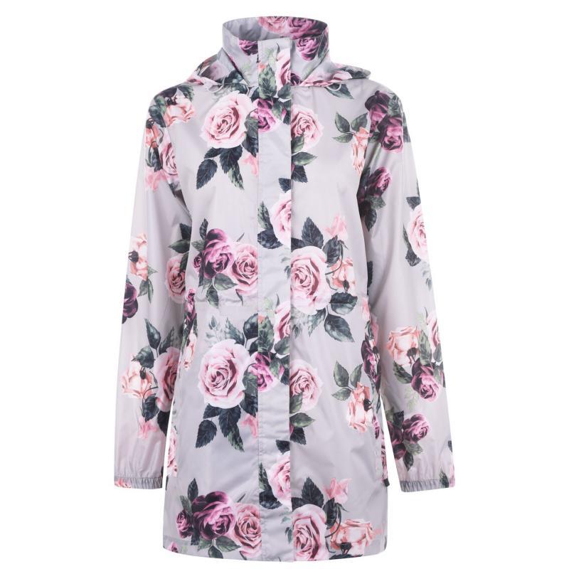 Gelert Packaway Parka Ladies Floral AOP